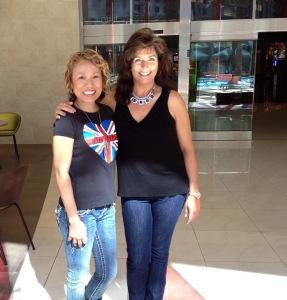 Meeting @mizfabulousity - my first PFF IRL!